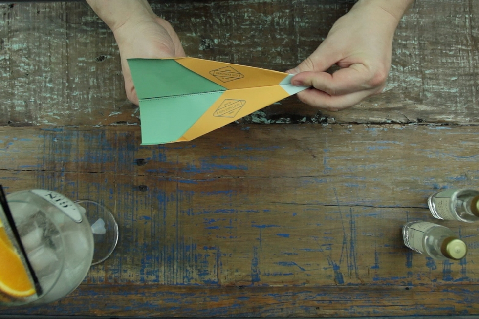 Gin Explorer How to Make a Paper Airplane