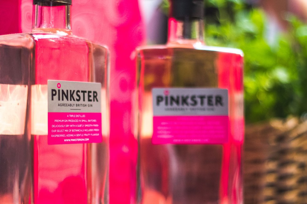 Pinkster Gin Bottles