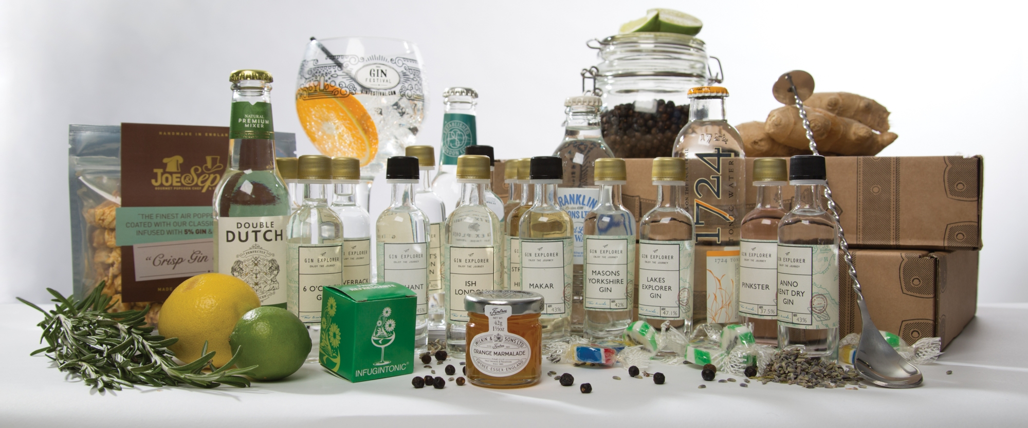 What's in a Gin Explorer Box?