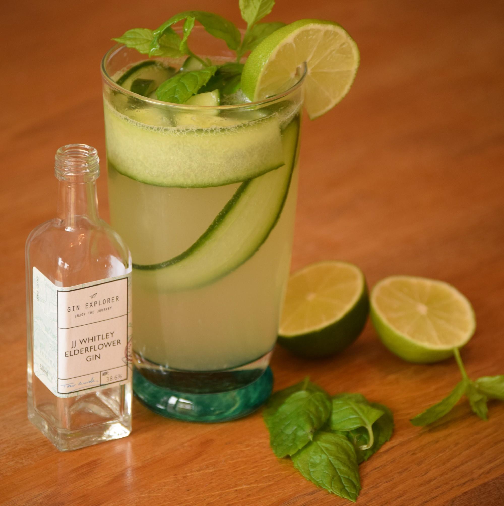 Summer Kick Gin Cocktail Recipe