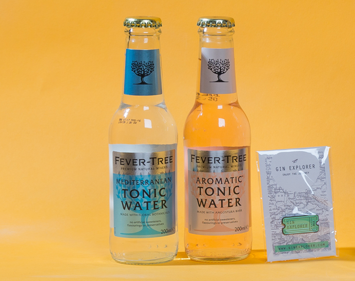 Fever-Tree Aromatic Tonic and Fever-Tree Mediterranean Tonic