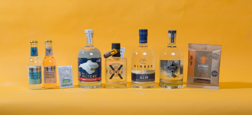Gin Explorer Box August 2016