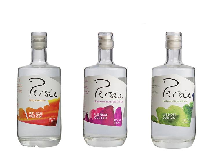 Persie Gin 3 Flavours