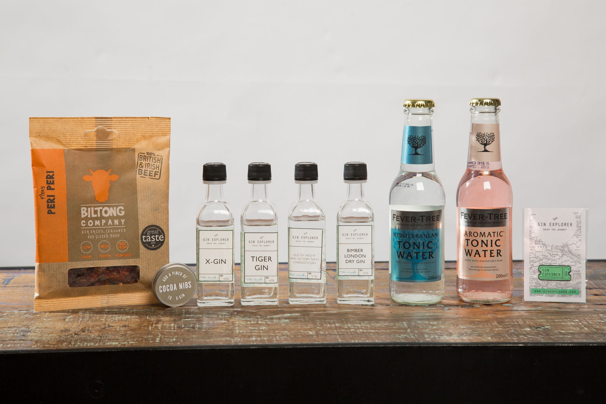 Gin Explorer Box August Box Contents